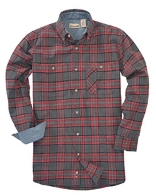 Picture of Backpacker BP7001 Men's  Yarn-Dyed Flannel Shirt