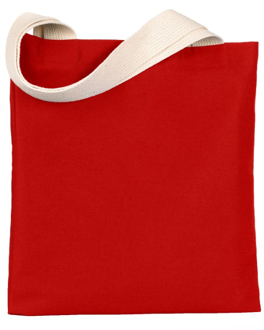 Picture of Bayside BS800 7 oz., Poly/Cotton Promotional Tote