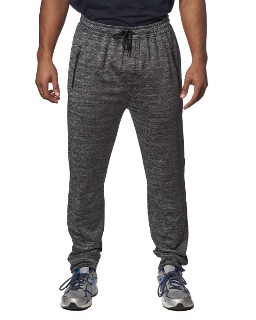 Picture of Burnside BU8801 Unisex Heather Perfomance Jogger Pant