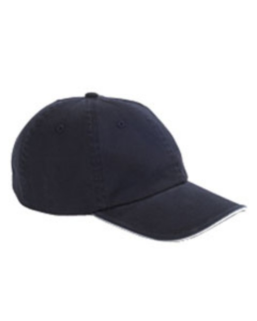 Picture of Big Accessories BWTS Washed Twill Sandwich Cap