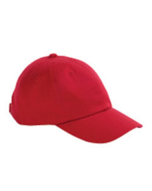 Picture of Big Accessories BX001 6-Panel Brushed Twill Unstructured Cap