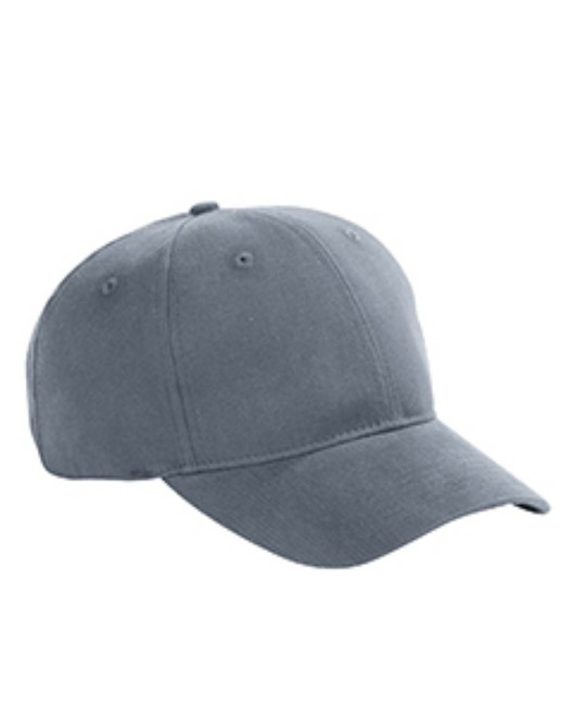 Picture of Big Accessories BX002 6-Panel Brushed Twill Structured Cap