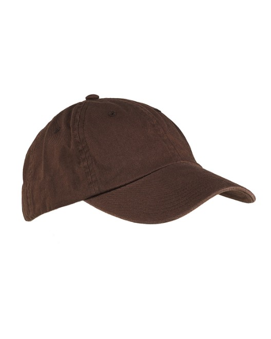 ffc9fe99c33f97 Picture of Big Accessories BX005 6-Panel Washed Twill Low-Profile Cap