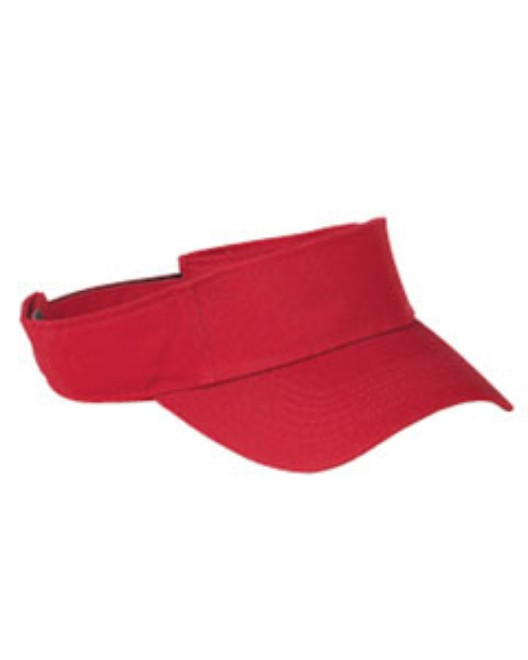 Picture of Big Accessories BX006 Cotton Twill Visor