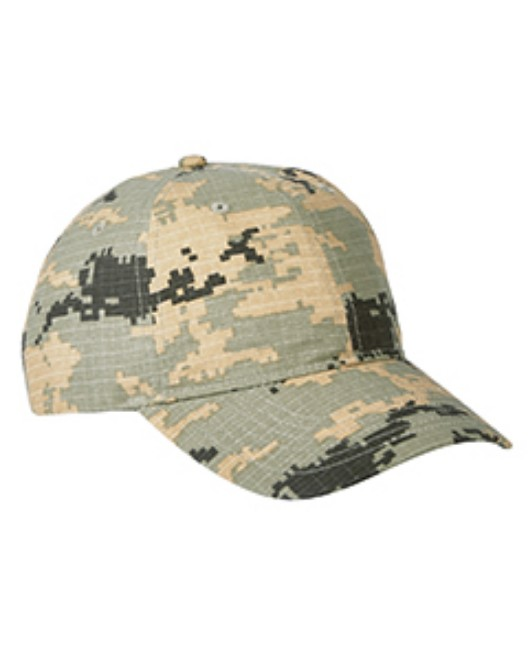 Picture of Big Accessories BX018 Unstructured Camo Cap