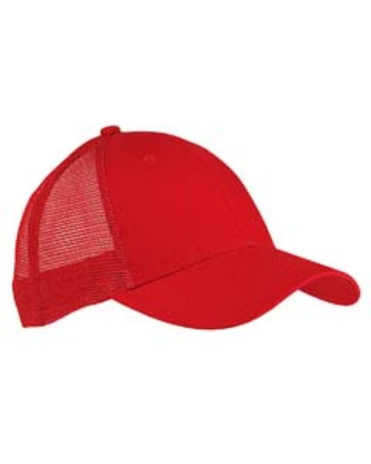 Picture of Big Accessories BX019 6-Panel Structured Trucker Cap