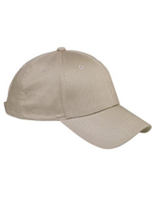 Picture of Big Accessories BX020 6-Panel Structured TwillCap