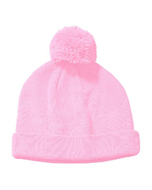 Picture of Big Accessories BX028 Knit Pom Beanie