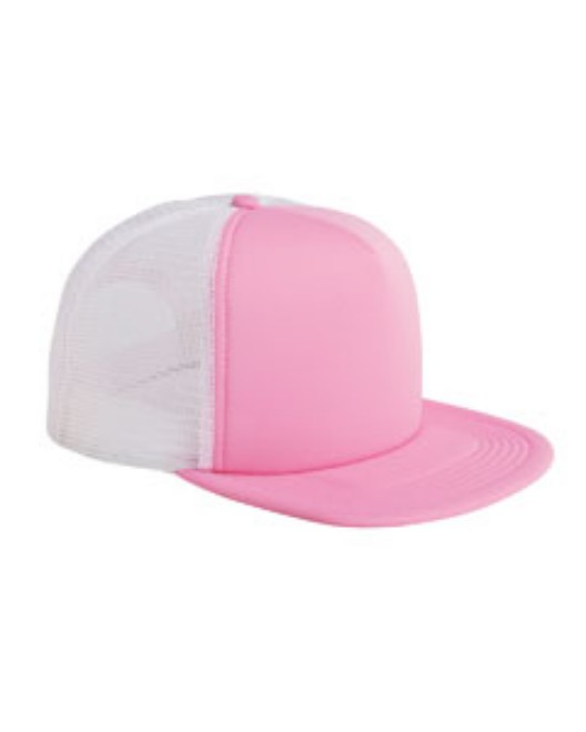 Picture of Big Accessories BX030 5-Panel Foam Front Trucker Cap
