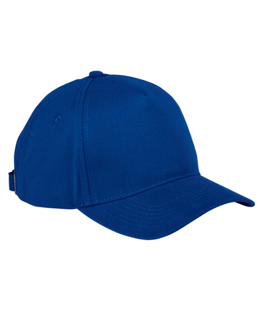 Picture of Big Accessories BX034 5-Panel Brushed Twill Cap