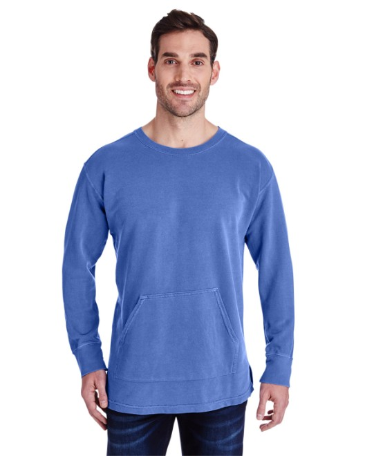 Picture of Comfort Colors C1536 Adult French Terry Crew With Pocket