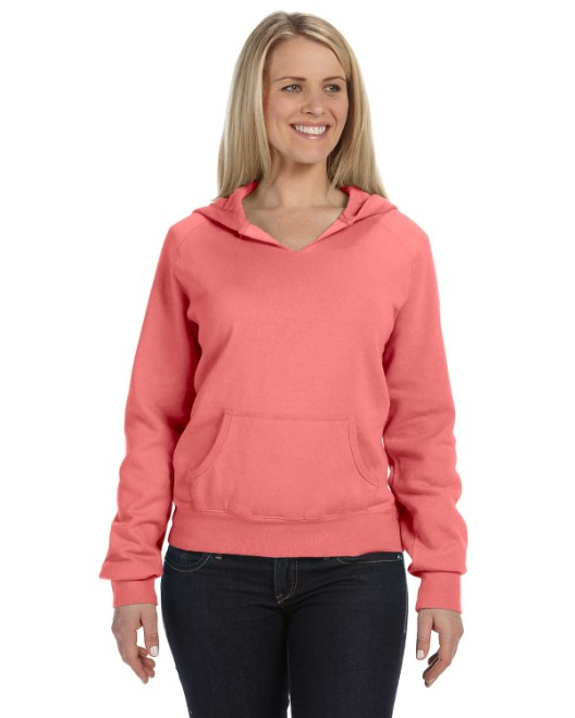 Picture of Comfort Colors C1595 Womens Hooded Sweatshirt