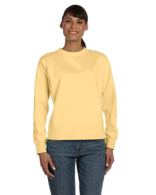 Picture of Comfort Colors C1596 Ladies' Crewneck Sweatshirt