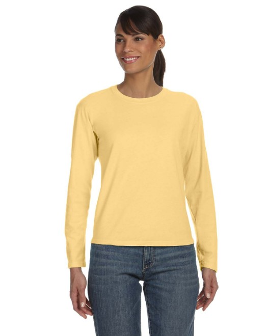 Picture of Comfort Colors C3014 Womens Midweight RS Long-Sleeve T-Shirt