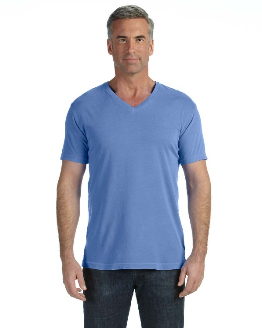 Picture of Comfort Colors C4099 Adult Midweight RS V-Neck T-Shirt