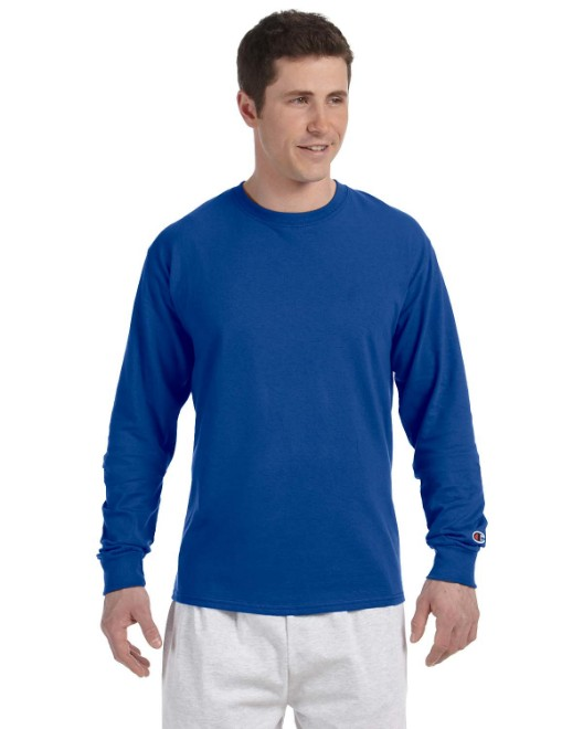 Picture of Champion CC8C Adult 5.2 oz. Long-Sleeve T-Shirt