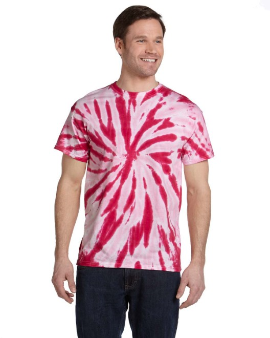 Picture of Tie-Dye CD110 Adult 5.4 oz., 100% Cotton Twist Tie-Dyed T-Shirt