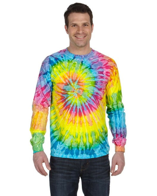 Picture of Tie-Dye CD2000 Adult 5.4 oz. 100% Cotton Long-Sleeve T-Shirt