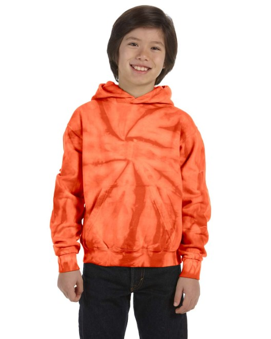 Picture of Tie-Dye CD877Y Youth 8.5 oz. Tie-Dyed Pullover Hooded Sweatshirt