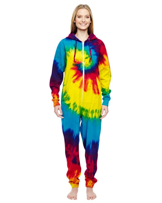 Picture of Tie-Dye CD892 Adult All-In-One Loungewear