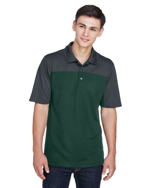 Picture of Ash City - Core 365 CE101 Men's Balance Colorblock Performance Pique Polo