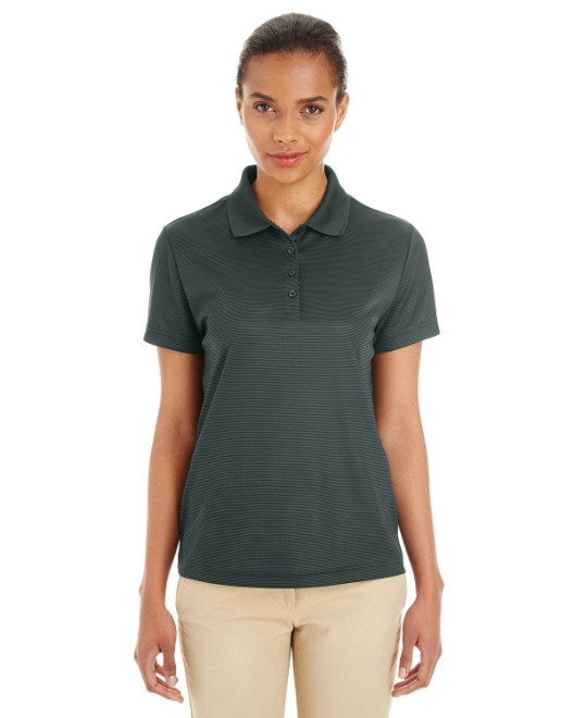 Picture of Ash City - Core 365 CE102W Womens Express Microstripe Performance Pique Polo