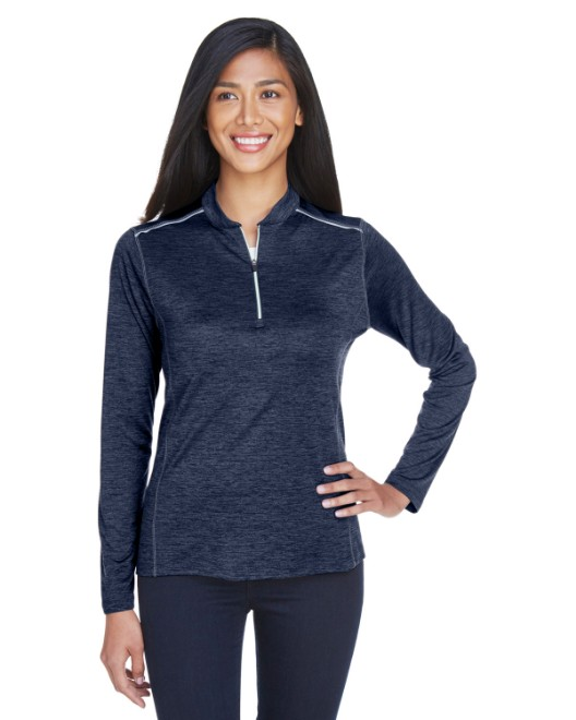 Picture of Ash City - Core 365 CE401W Womens Kinetic Performance Quarter-Zip