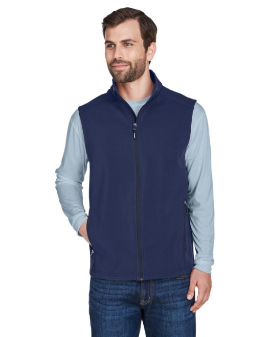 Picture of Ash City - Core 365 CE701 Men's Cruise Two-Layer Fleece Bonded Soft Shell Vest