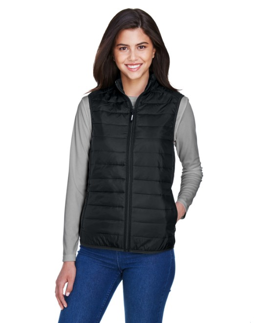 Picture of Ash City - Core 365 CE702W Womens Prevail Packable Puffer Vest