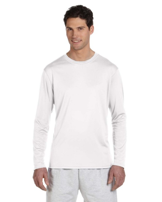 Picture of Champion CW26 Adult 4.1 oz. Double Dry Long-Sleeve Interlock T-Shirt