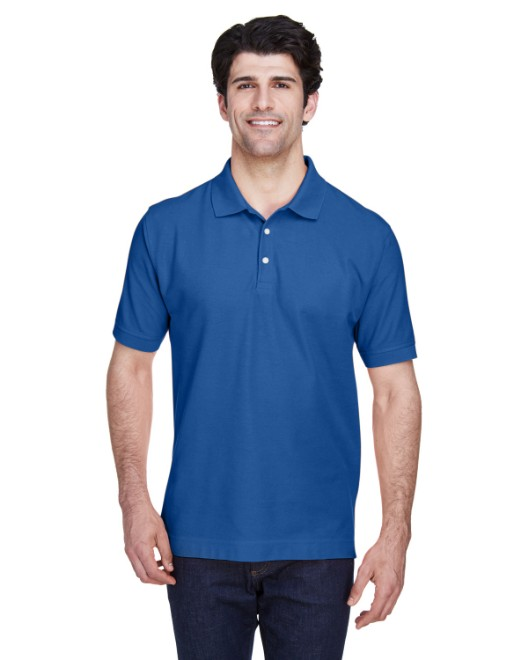 Picture of Devon & Jones D100 Men's Pima Pique Short-Sleeve Polo