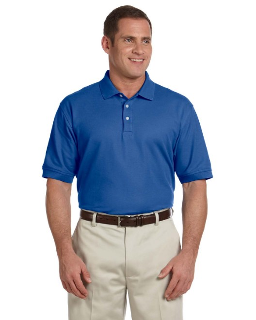 Picture of Devon & Jones D100T Men's Tall Pima Pique Short-Sleeve Polo