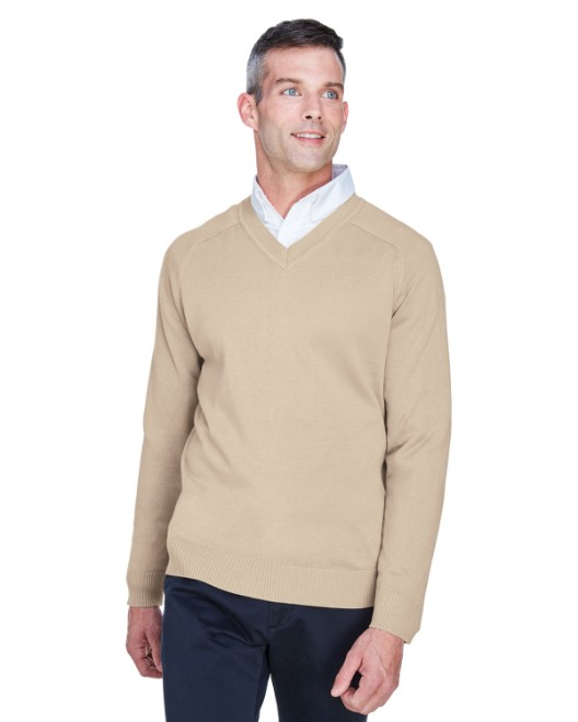 Picture of Devon & Jones D475 Men's V-Neck Sweater