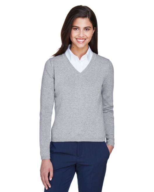 Picture of Devon & Jones D475W Womens V-Neck Sweater