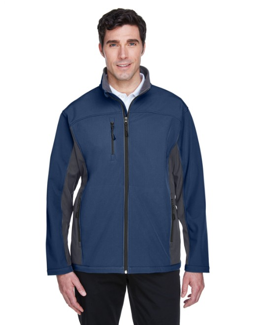 Picture of Devon & Jones D997 Men's Soft Shell Colorblock Jacket