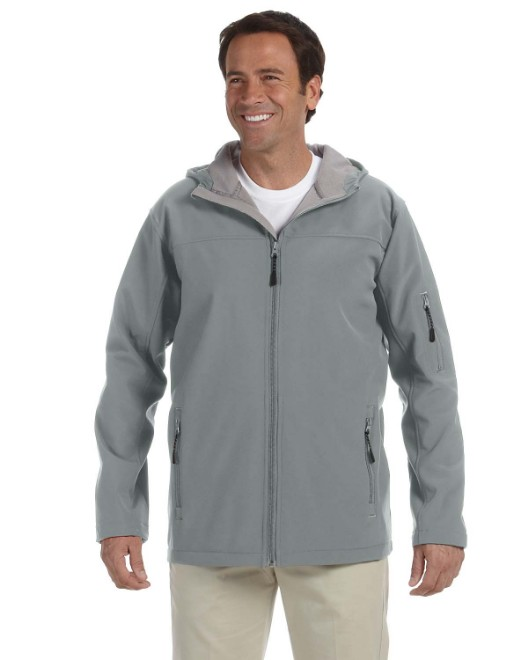 Picture of Devon & Jones D998 Men's Soft Shell Hooded Jacket