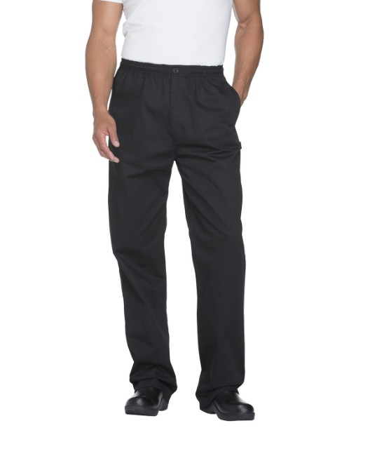 Picture of Dickies Chef DC13 Men's Classic Elastic Waist Zip Trouser