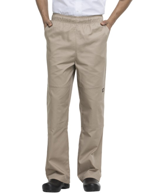 Picture of Dickies Chef DC15 Unisex Double Knee Baggy Elastic Pant