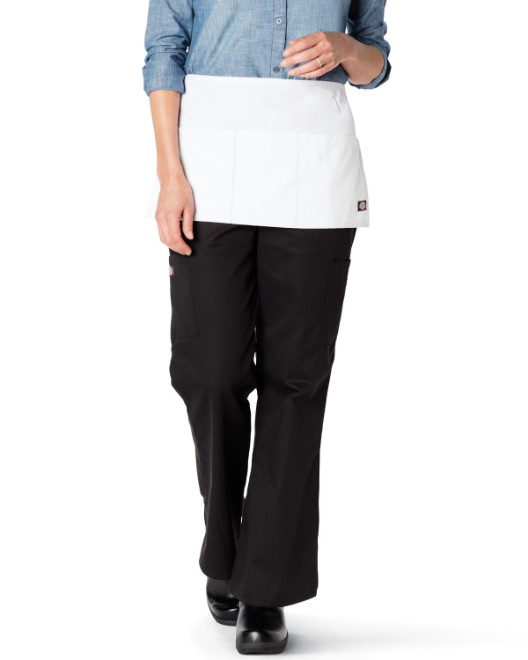 Picture of Dickies Chef DC56B 6-Piece 3 Pocket Server Waist Apron