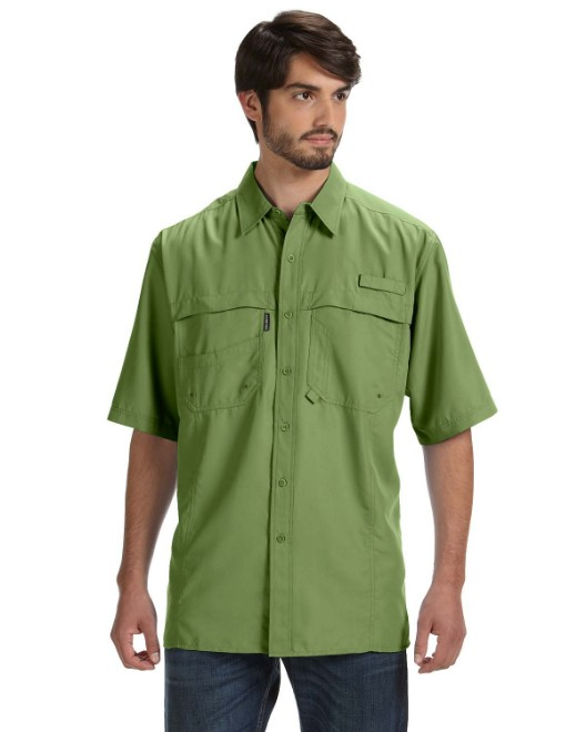 Picture of Dri Duck DD4406 Men's Short-Sleeve Catch Fishing Shirt