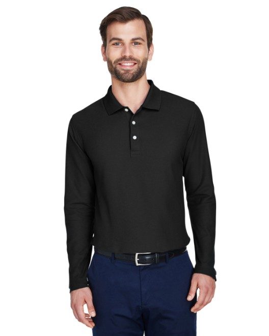 Picture of Devon & Jones DG170 Men's DRYTEC20 Performance Long-Sleeve Polo
