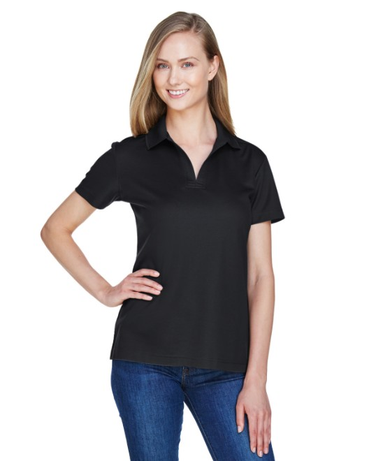 Picture of Devon & Jones DG20W CrownLux Performance Womens Plaited Polo