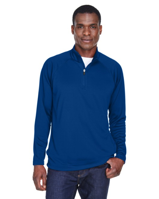 Picture of Devon & Jones DG440 Men's Stretch Tech-Shell Compass Quarter-Zip