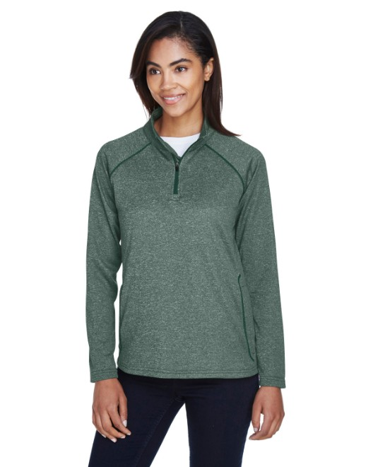 Picture of Devon & Jones DG440W Womens Stretch Tech-Shell Compass Quarter-Zip