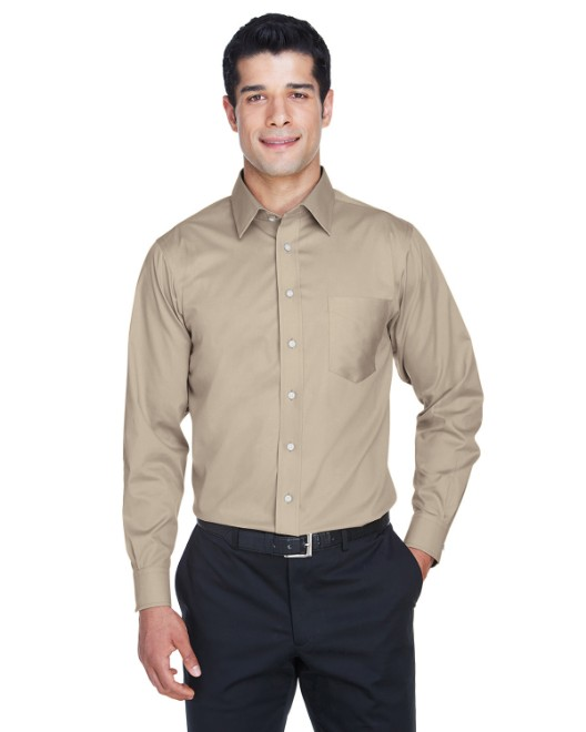 Picture of Devon & Jones DG530 Men's Crown Woven Collection Solid Stretch Twill
