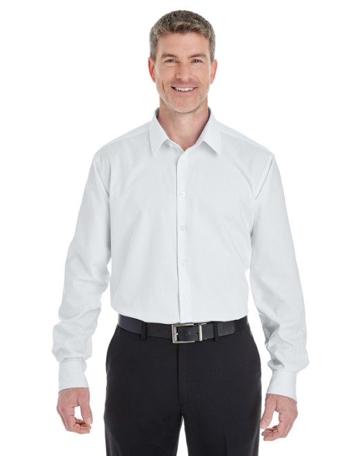 Picture of Devon & Jones DG532 Men's Crown Woven Collection RoyalDobby Shirt