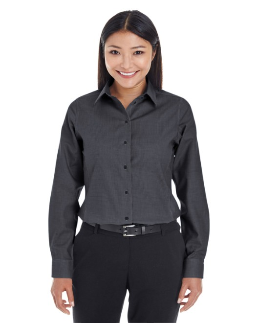Picture of Devon & Jones DG532W Womens Crown Woven Collection Royal Dobby Shirt