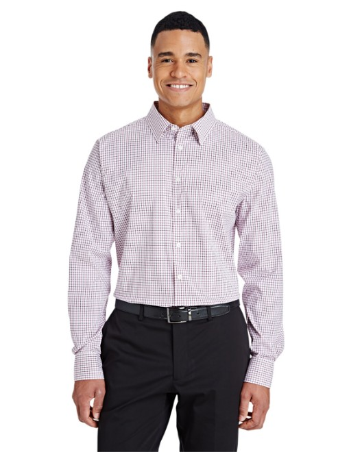 Picture of Devon & Jones DG540 CrownLux Performance Men's Micro Windowpane Shirt