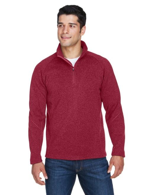 Picture of Devon & Jones DG792 Adult Bristol Sweater Fleece Quarter-Zip