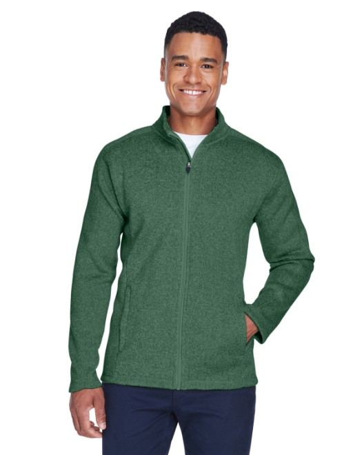 Picture of Devon & Jones DG793 Men's Bristol Full-Zip Sweater Fleece Jacket